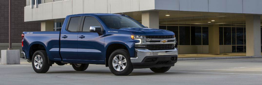 2019 Chevy Silverado Exterior Color Options