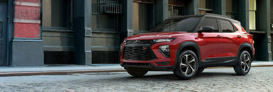 2021 Chevrolet Trailblazer RS Exterior Driver Side Profile