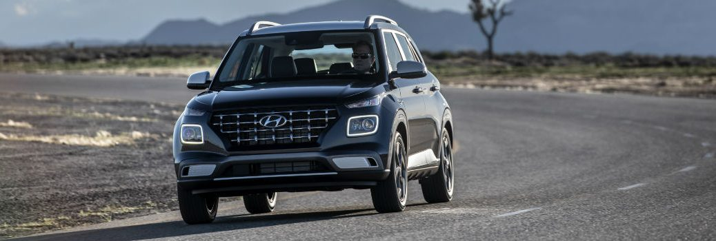 2020 Hyundai Venue Exterior Driver Side Front Angle