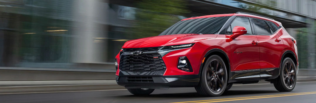 2019 Chevy Blazer Exterior Color Options