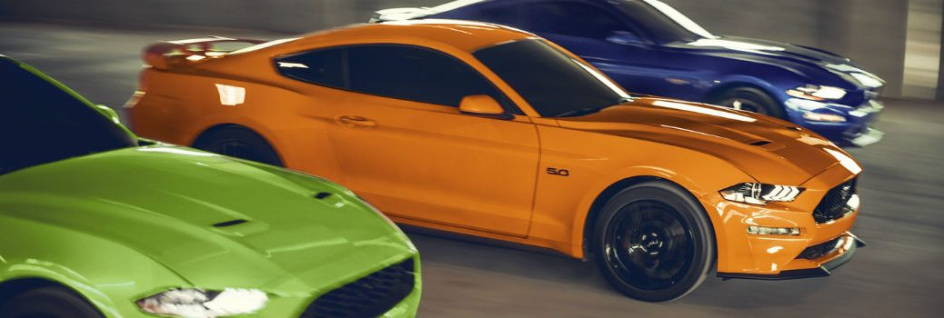 2020 Ford Mustang Exterior Passenger Side Front Profiles