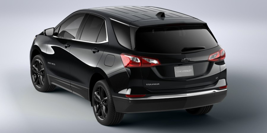 Rear driver angle of the 2020 Chevrolet Equinox Midnight Edition