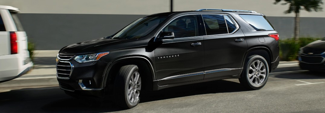 Available Safety Technology in the 2020 Chevy Traverse