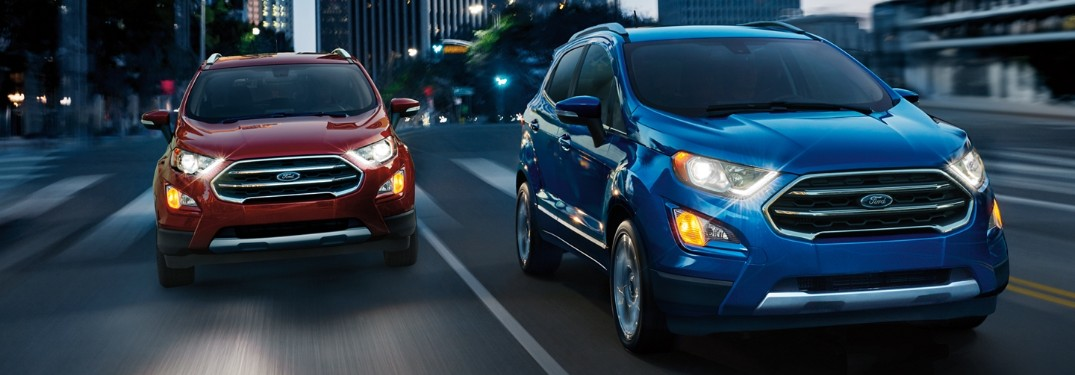 Which Exterior Colors are Available for the 2019 Ford EcoSport?