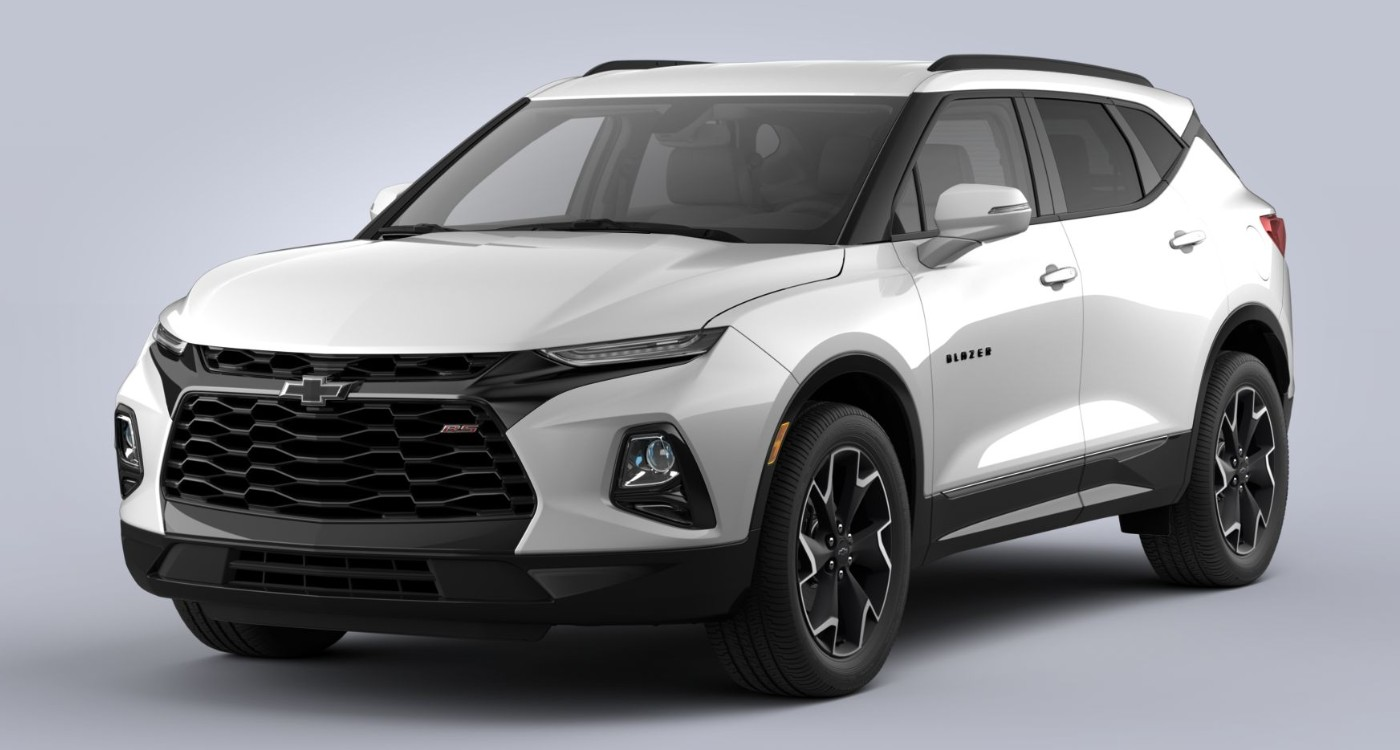 2020 Chevy Blazer in Iridescent Pearl Tricoat