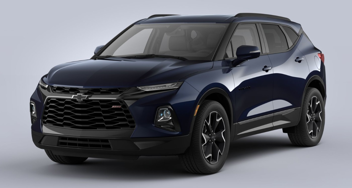 Which Colors Are Available For The 2020 Chevrolet Blazer