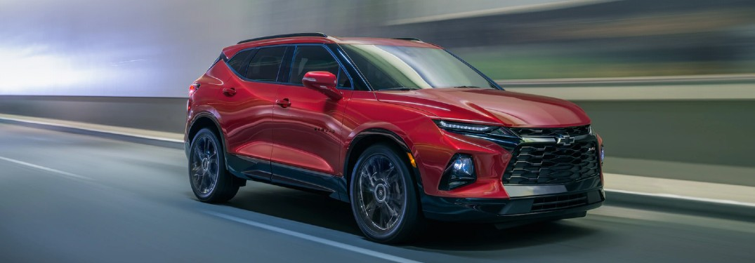 Which Colors are Available for the 2020 Chevrolet Blazer?
