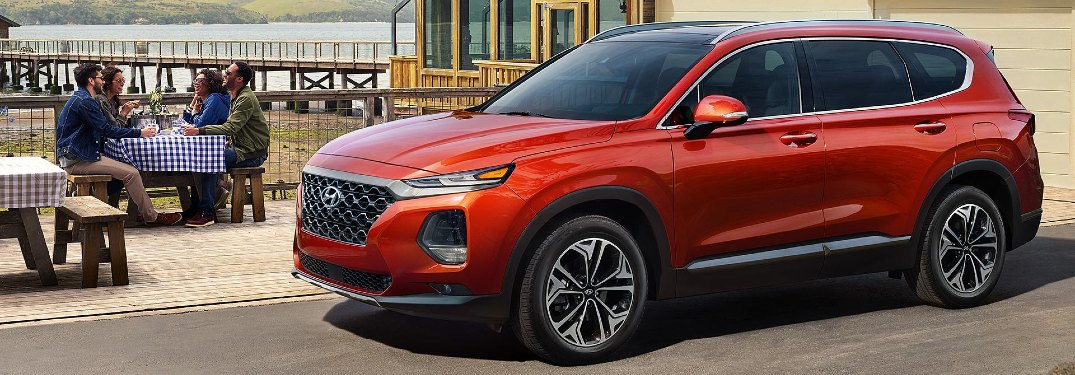 Which Exterior Colors are Available for the 2020 Hyundai Santa Fe?