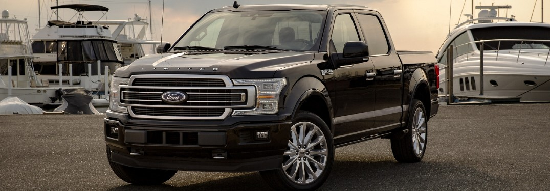 What are the Color Options for the 2020 Ford F-150?