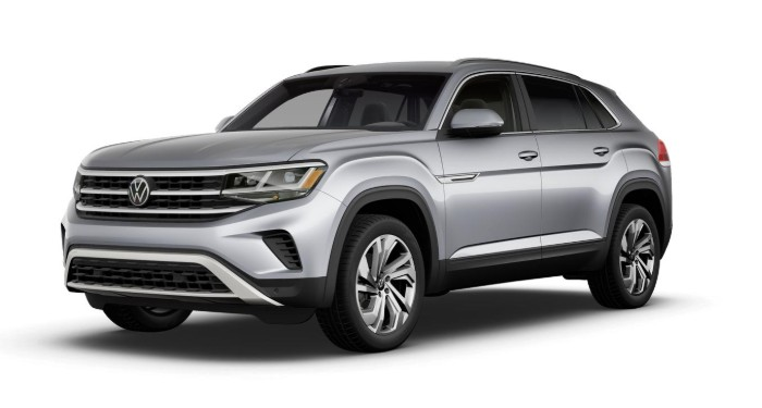 2020 Volkswagen Atlas Cross Sport Pyrite Silver Metallic