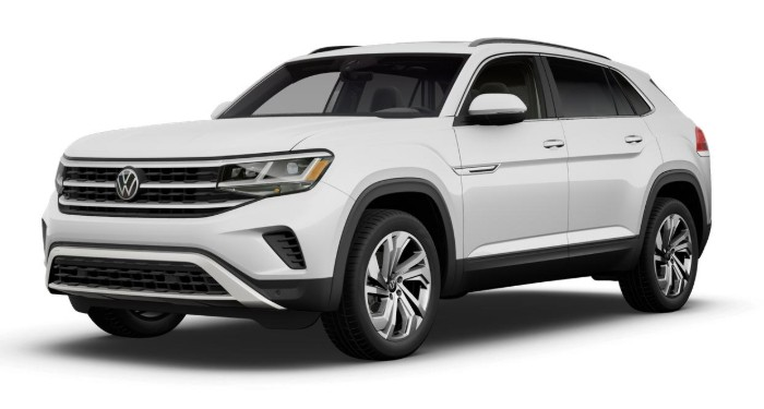2020 Volkswagen Atlas Cross Sport Pure White