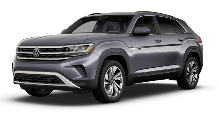 2020 Volkswagen Atlas Cross Sport Platinum Gray Metallic