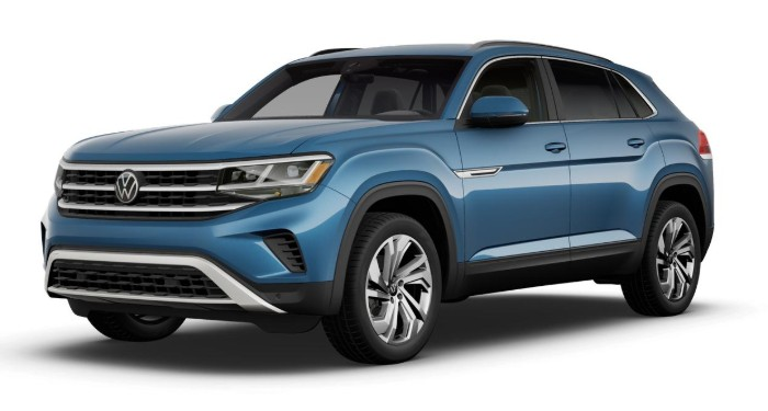 2020 Volkswagen Atlas Cross Sport Pacific Blue Metallic