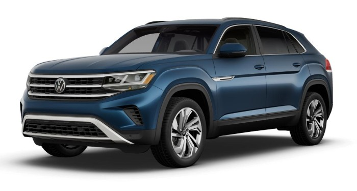 2020 Volkswagen Atlas Cross Sport Tourmaline Blue Metallic