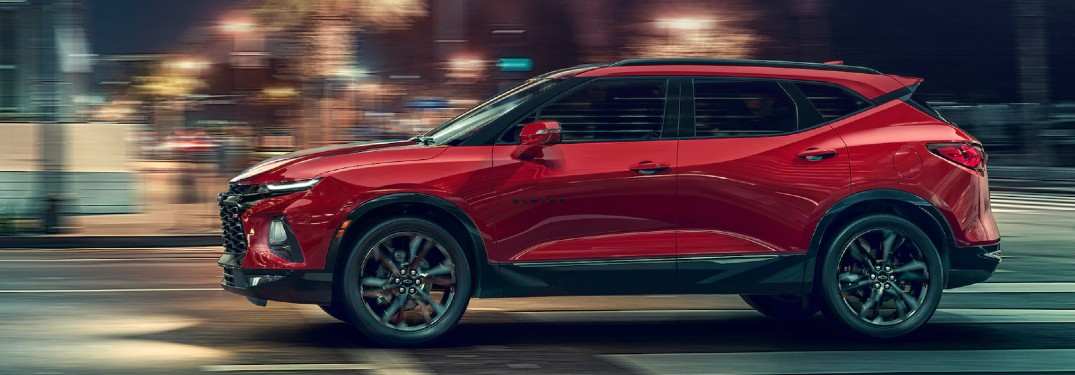What are the Engine Options for the 2021 Chevrolet Blazer?