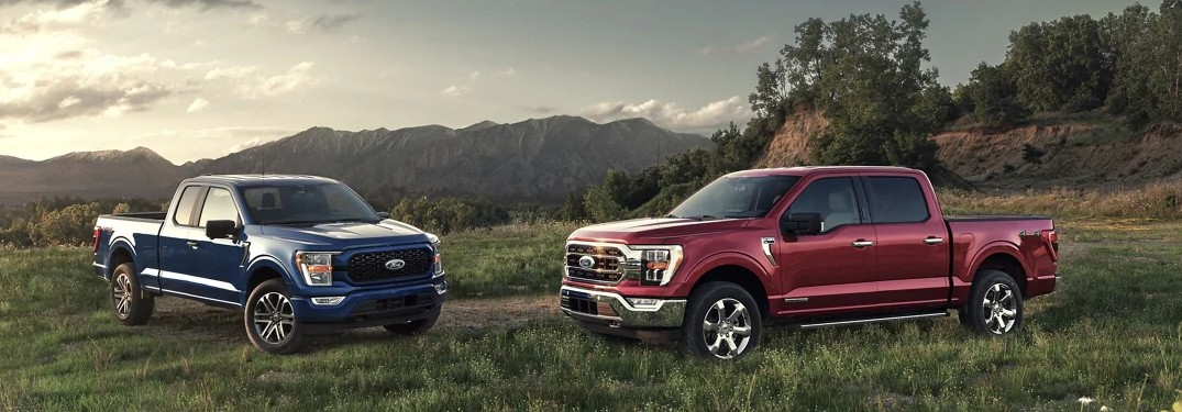 Color Options Offered for the 2021 Ford F-150