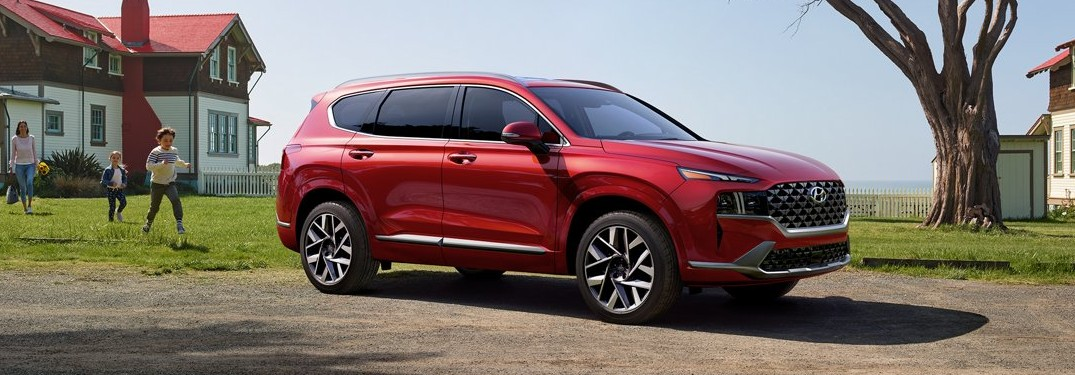 Driver-Assistive Technology Offered with the 2021 Hyundai Santa Fe