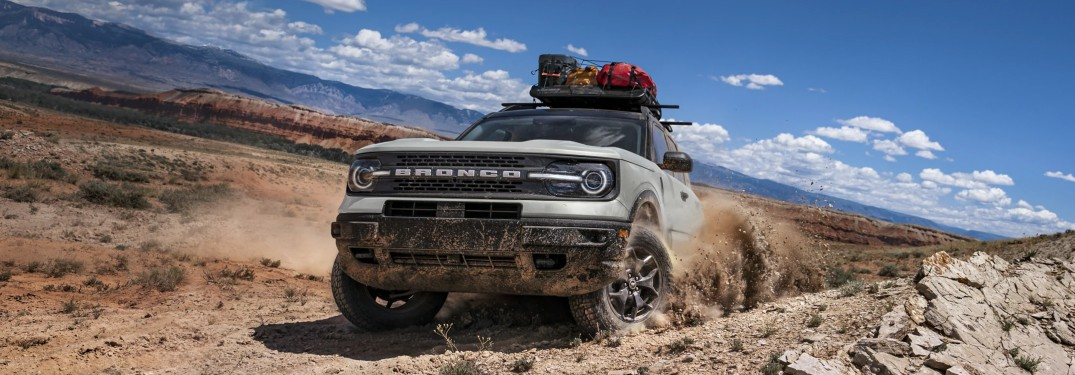 Off-Road Capabilities for the 2021 Ford Bronco Sport
