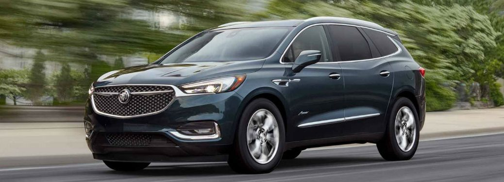 Used Buick Enclave side profile