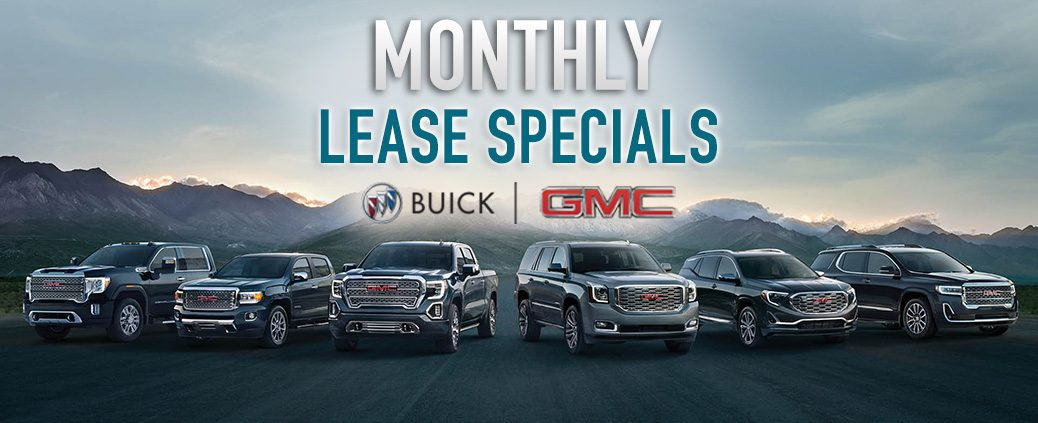 Lease A Buick Or GMC and SAVE!