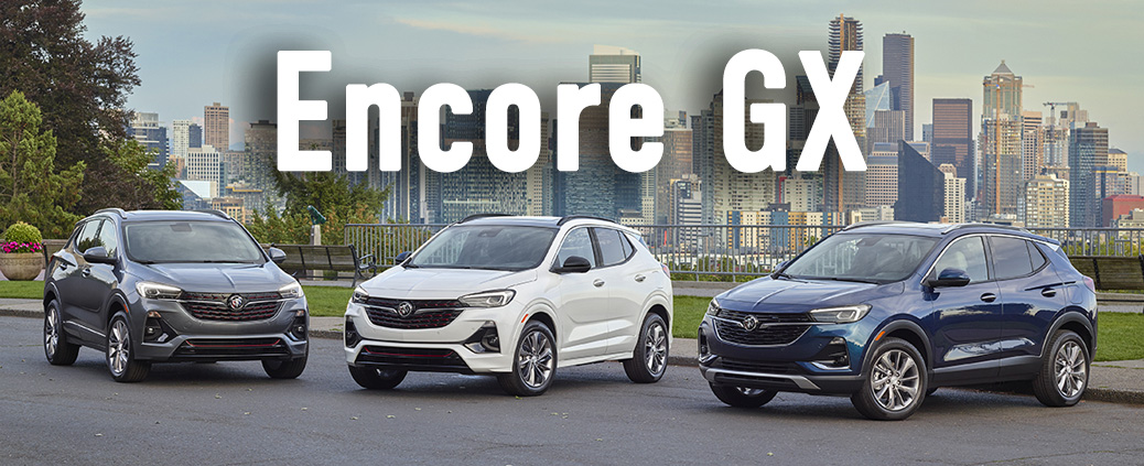 2020 Buick Encore GX Trims: Preferred, Select & Essence