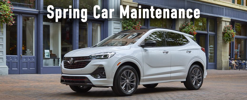 Spring car maintenance at your Buick dealer and GMC dealer in Highland, IN.