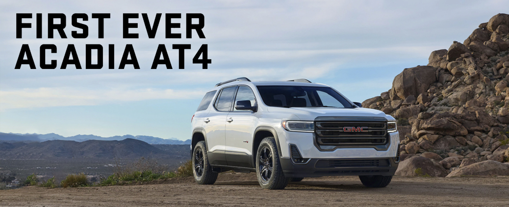 2020 GMC Acadia AT4 in Highland, Indiana at your nearby GMC dealer at Circle Buick GMC