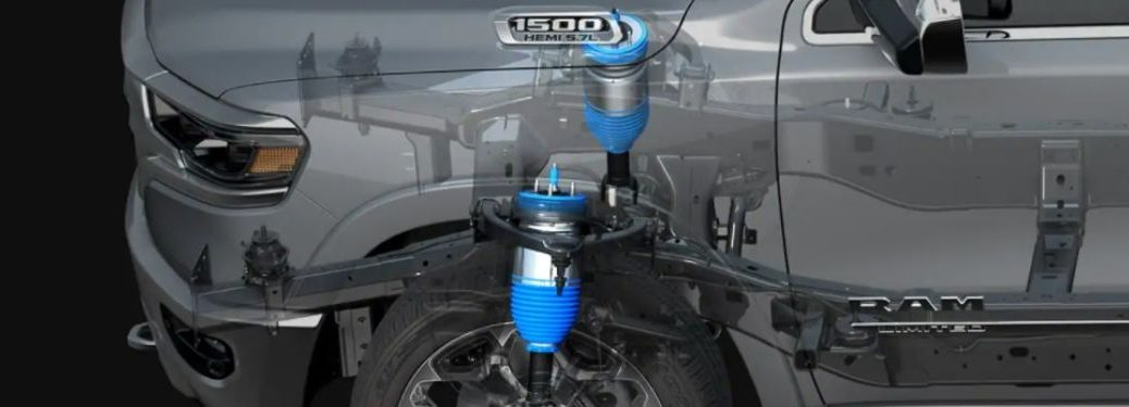 Cutaway Diagram of 2021 Ram 1500 Active-Level Four Corner Air Suspension