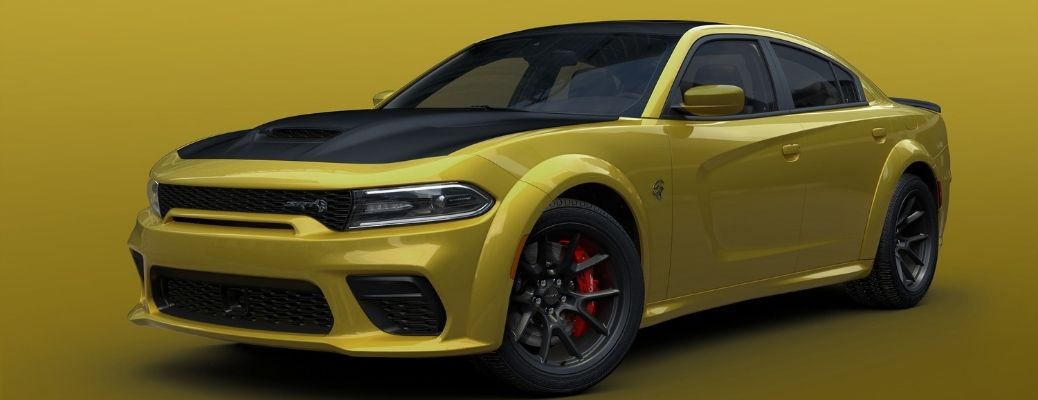 2021 Dodge Charger Gold Rush Front Left-Quarter View