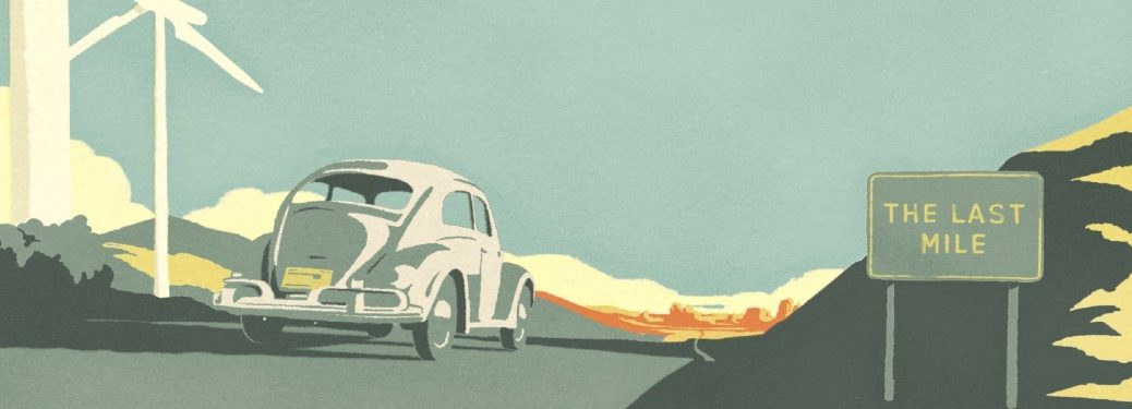"""Graphic from the Volkswagen video """"The Last Mile"""""""