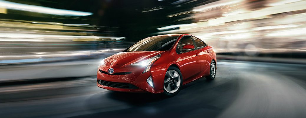 2017 Toyota Prius fuel economy and driving range