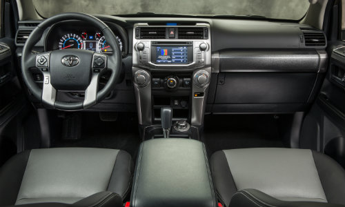 2017 Toyota 4Runner interior features and technology