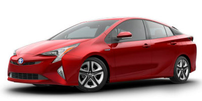 Hypersonic Red 2017 Prius