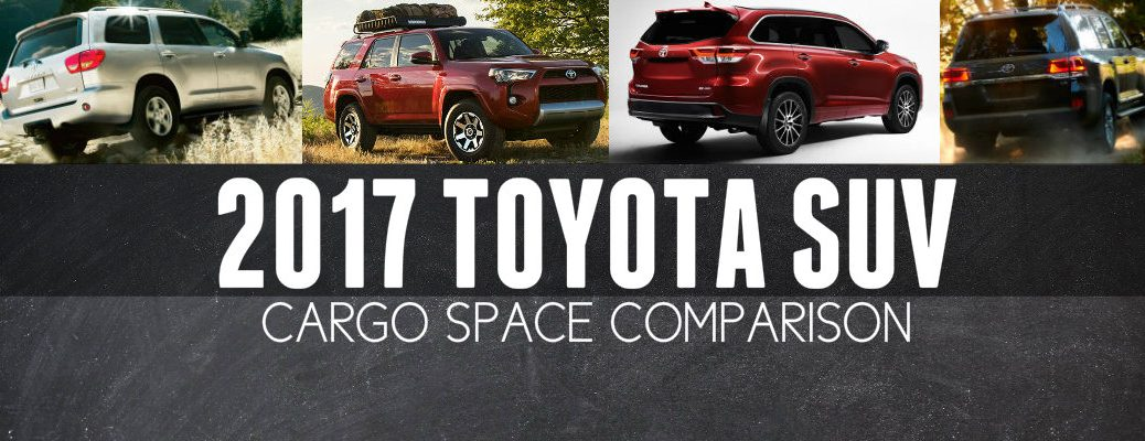 Which Toyota has the most cargo room?
