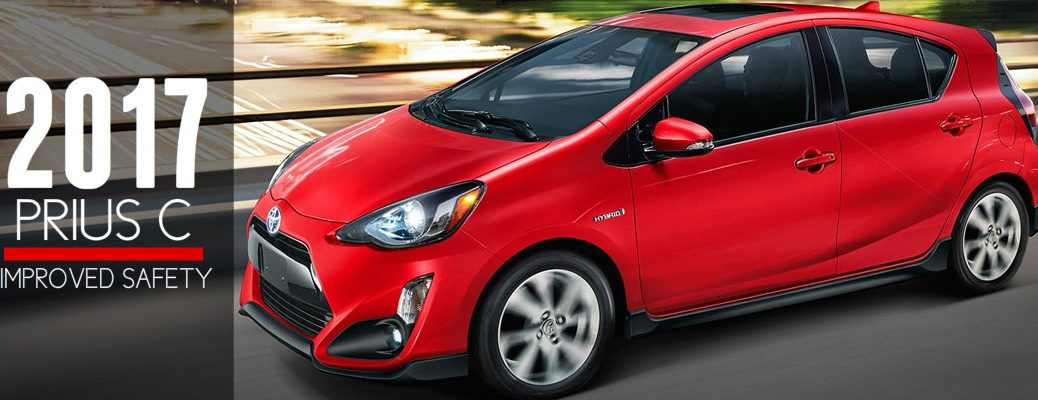 2017 Prius C Range and Safety Ratings