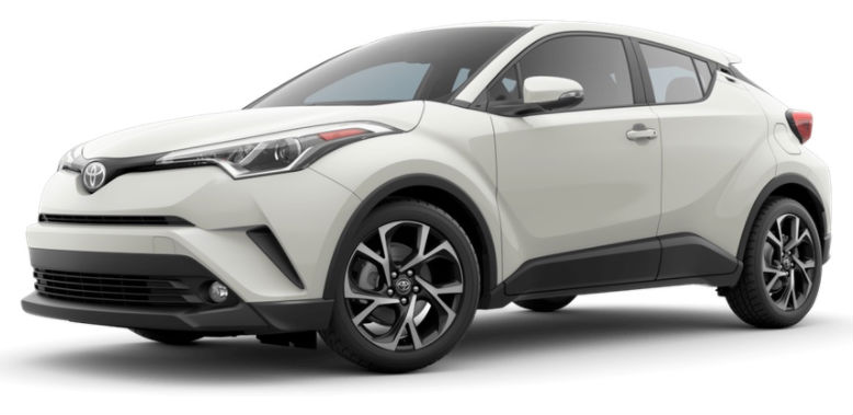 2017 Toyota CH-R color options blizzard pearl