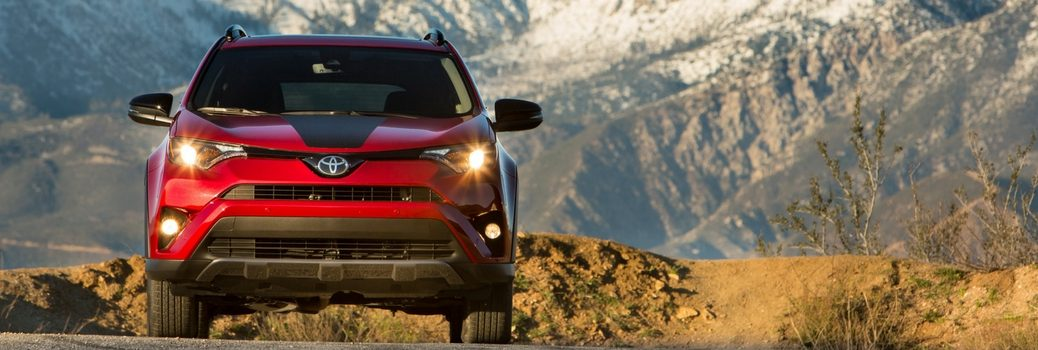 2018 Toyota RAV4 Adventure in mountain road