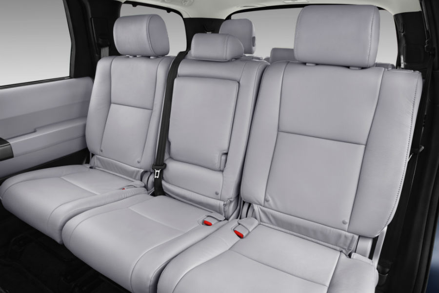 second and third row seats in 2018 toyota sequoia limited trim