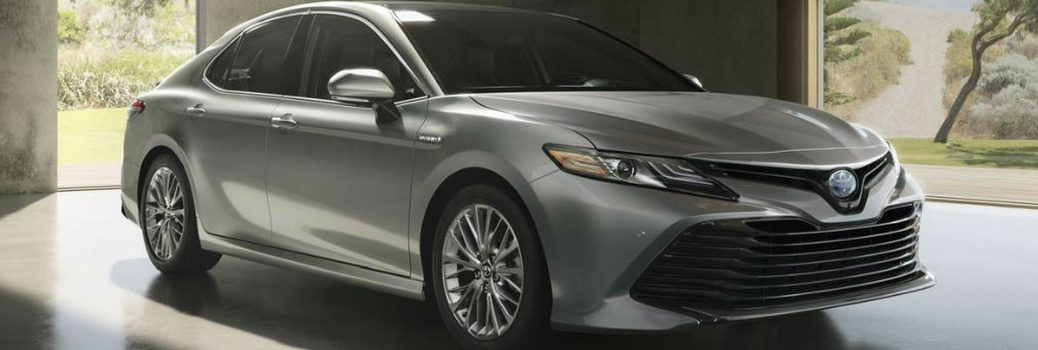 2018 Toyota Camry Parked In Garage.