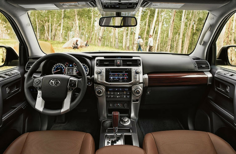 2018 Toyota 4Runner front view.