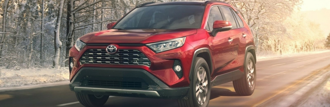 2019 Toyota RAV4 Paint Color Options