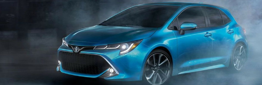 2019 Toyota Corolla Exterior Paint Options
