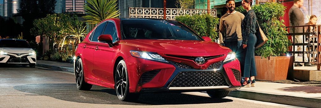 2019 Toyota Camry parked outside