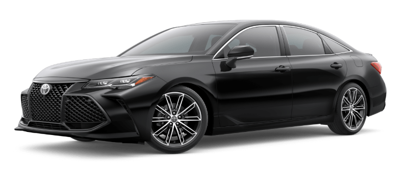 2019 Toyota Avalon in Midnight Black