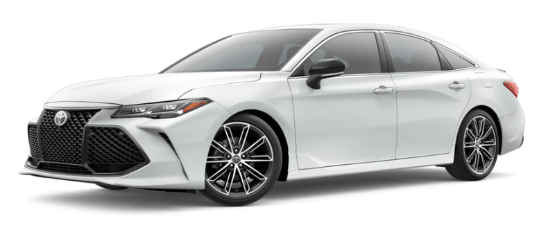 What are the color options offered with the 2019 Toyota Avalon?