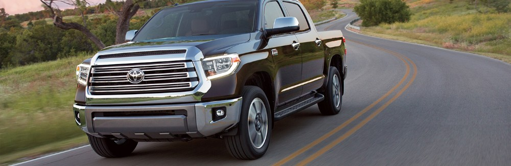 2019 Toyota Tundra driving down road