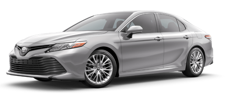 2019 Toyota Camry in Celestial Silver