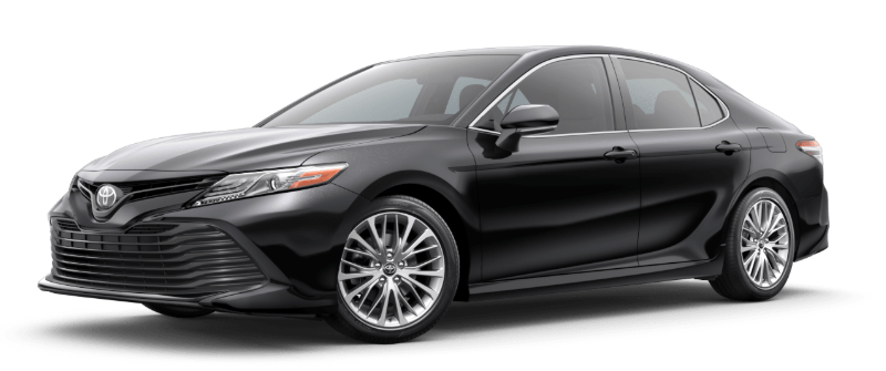 2019 Toyota Camry in Midnight Black