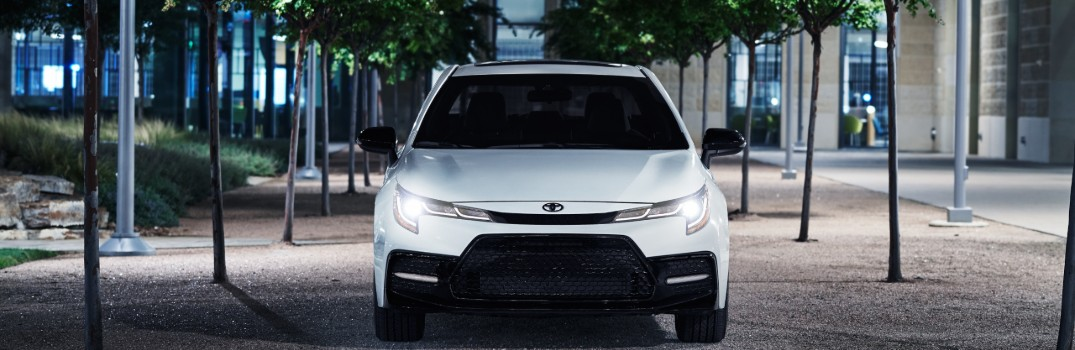 2020 Toyota Corolla Family now offers Nightshade Editions