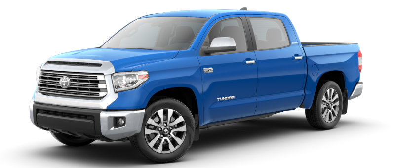 2020 Toyota Tundra in Voodoo Blue